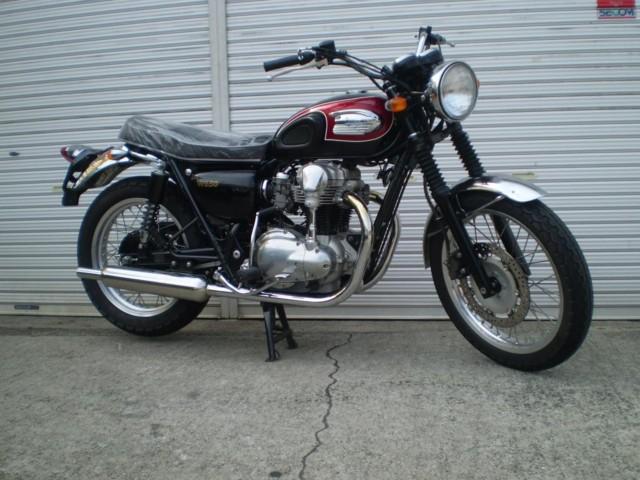 カワサキ W650の写真1