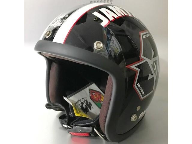 パーツ ALFA RAYS 72 JAM JET ヘルメット JJ-03の写真1