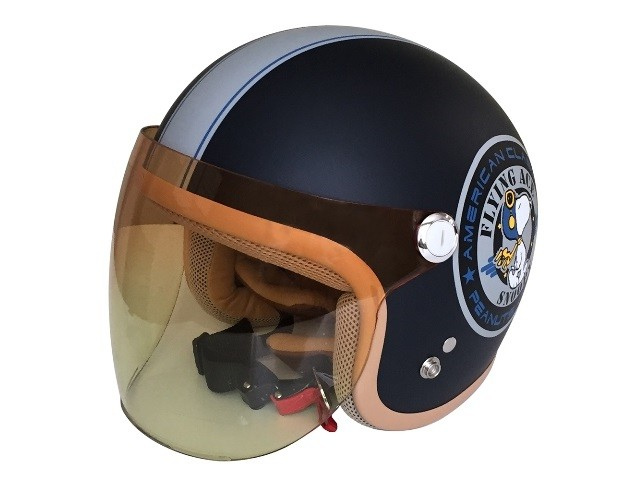 パーツ スヌーピー ジェットヘルメット バイカーズシスターズの写真1