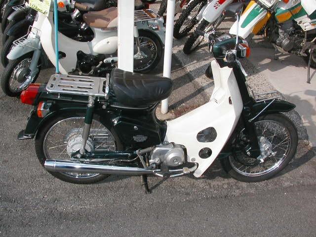 ホンダ スーパーカブ50の写真1