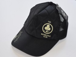 ACE CAFE LONDON ナイロンメッシュCAP S-Logo BK