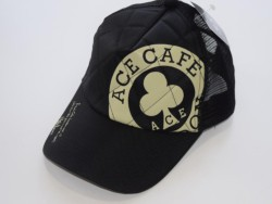 ACE CAFE LONDON ナイロンメッシュCAP L-Logo BK
