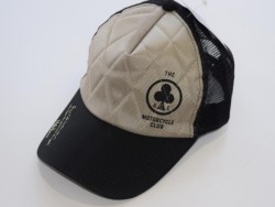 ACE CAFE LONDON ナイロンメッシュCAP S-Logo WH