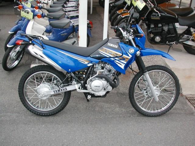 ヤマハ XTZ125の写真1